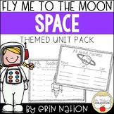 Fly Me to the Moon {Math, English/Language Arts space activities, and more!}