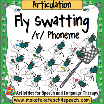 Articulation - Fly Swat!  /R/ Phoneme