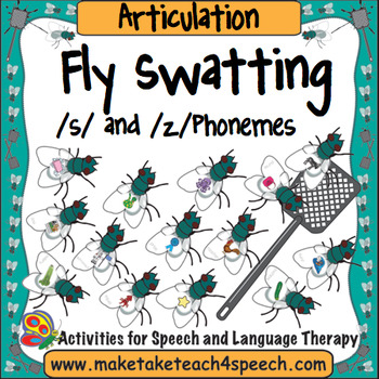 Articulation - Fly Swat! /S/ and /Z/ Phonemes