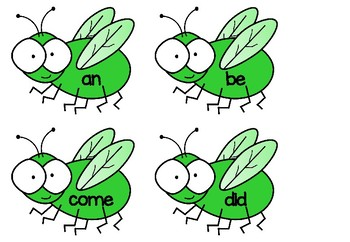 Fly Swat - Sight Word Game - Set 2