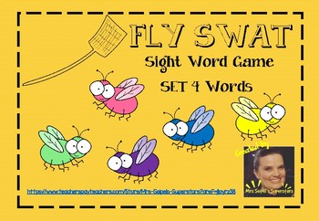 Fly Swat - Sight Word Game - Set 4