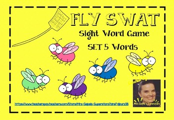 Fly Swat - Sight Word Game - Set 5