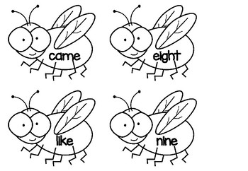 Fly Swat - Sight Word Game - Set 6
