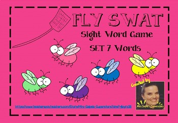 Fly Swat - Sight Word Game - Set 7