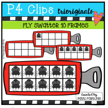 Fly Swatter 10 Frames (P4 Clips Trioriginals)