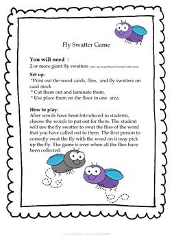 Fly Swatter!!! Initial f,l,m,n,r,s ; final  d,g,p,t ; a,i,o blending sounds