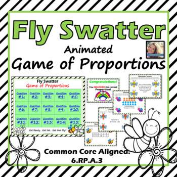 Fly Swatter: Animated Game of Proportions