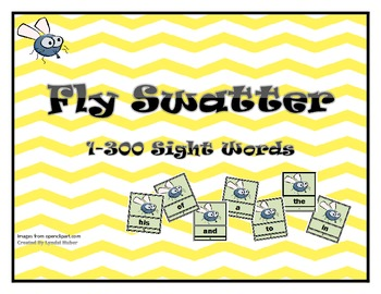 Fly Swatter Fry Words 1-300