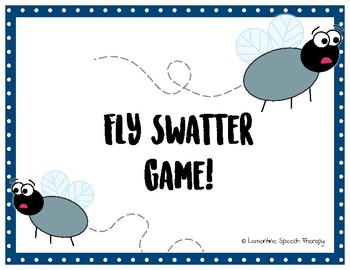 Fly Swatter Game!