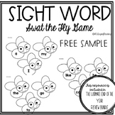 Fly Swatter Sight Word Game!
