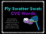 Fly Swatter Swat: CVC Words (Segmenting Onset & Rime)