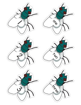 Addition - Fly Swatting Numbers and Addition Facts