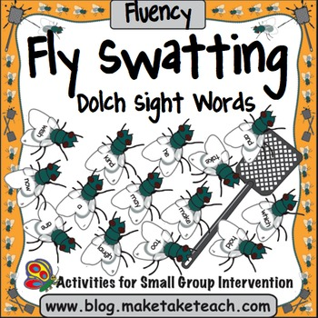 Sight Words - Fly Swatting Sight Words- Dolch Sight Words