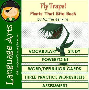 Fly Traps! Vocabulary Activities