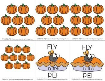 Fly in the Pie!  Counting Games for Numbers 1-10  **FREEBIE**