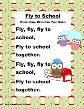 Back to School: Fly to School Poem