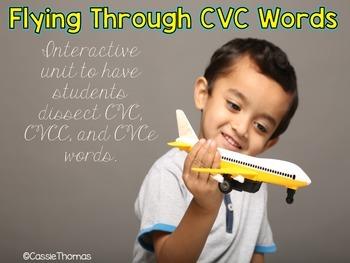 Flyin' through CVC, Subtraction, and Addition