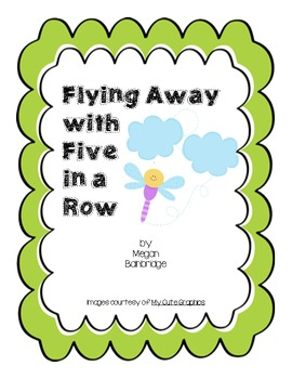 Flying Away with Five in a Row Math Center