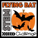 Flying Bat Halloween STEM Challenge