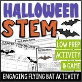 Flying Bat Halloween STEM Challenge