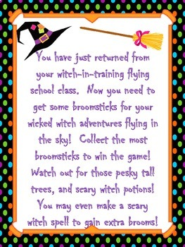 Flying Broomsticks: An Enchanted Witch Game!