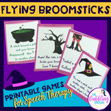 Flying Broomsticks! An Enchanted Witch Game For Speech Therapy