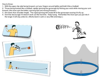 Flying Gyroscope (flying cylindrical toy)