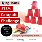 Flying Hearts STEM Catapult Challenge (Angles and Ratios)