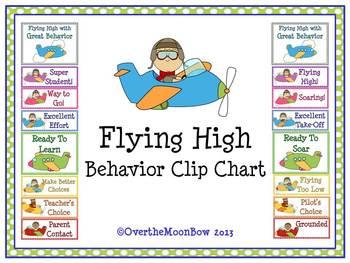 Flying High Behavior Clip Chart