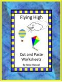 Kites Kindergarten Special Education Autism Cut and Paste Fine Motor