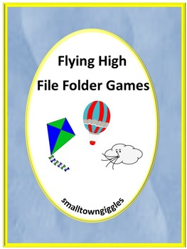 Kites Math and Literacy Interactive File Folder Games Review Centers