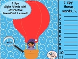 Flying High - I Spy Sight Words-  Interactive PowerPoint Lesson