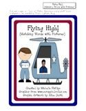 Flying High! - (Matching words with pictures) - File Folder Game