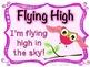 Flying High Owl Clip Chart