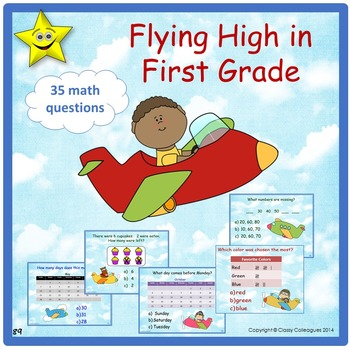 First Grade Math Review and Test Prep
