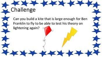 Flying High with Ben Franklin - STEM Challenge - GA 1st Grade SS
