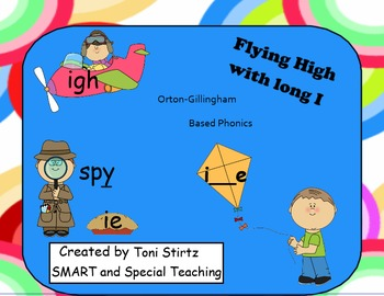 Orton Gillingham SMART Board Activities for Long I