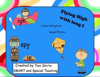 The Sound of Long I Phonics Orton Gillingham SMART Board L