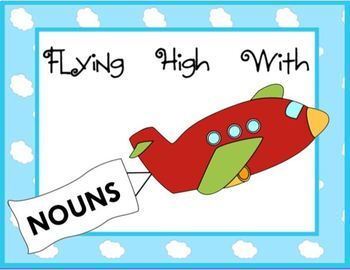 Flying High with Nouns SMARTBOARD