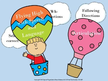 Flying High with Speech and Language Decor