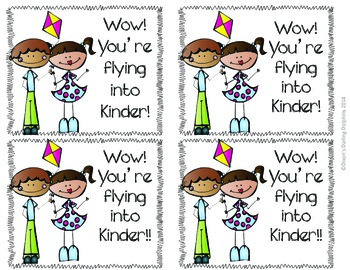 Flying Into The Next Year: Labels for Student Gifts TK-6
