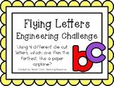 Flying Letters - STEM Engineering Challenge