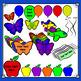 Flying Objects Clip Art Bundle