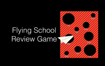 Flying School Review Game