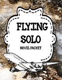 Flying Solo - Comprehension, Vocabulary and Activities Bundle