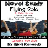 Flying Solo Novel Study & Enrichment Project Menu