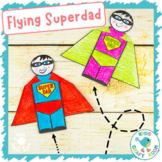 Flying Superhero - Father's Day Craft