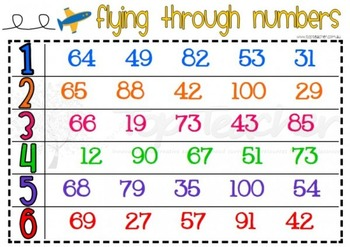 Flying Through Numbers