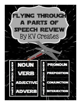 Flying Through Parts of Speech