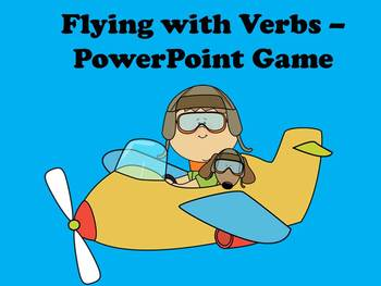 Flying With Verbs - PowerPoint Game
